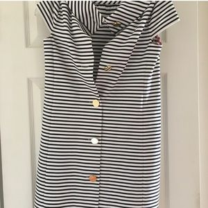 Bold striped Kate Spade dress